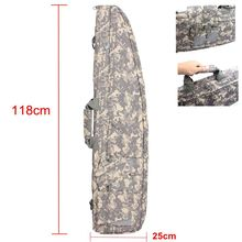 Tactical Nylon Bag Hunting Shooting Airgun Air Rifle Bag Outdoor Military Gun Carry Bag About 118cm With Cushion Pad