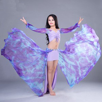 New 2018 Kids Child Oriental Dancing Costumes Clothes Sexy Tops Skirt 2pcs Set Belly Dance Performance