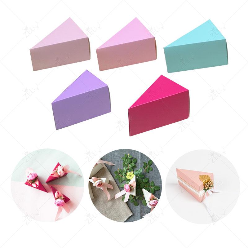 zljq unids diy caja de dulces de regalo de papel cajas de torta de la