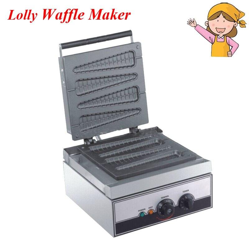 Hete Verkoop Waffle Maker 220/110 V Elektrische Lolly Wafelijzer Muffin Bakker Frans Wafel Maker Eb-q9
