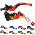 8 Colors For Bajaj Pulsar 200 NS All Years CNC Adjustable Levers Hot Sale Motorcycle Folding&Extending Levers Brake Clutch Lever