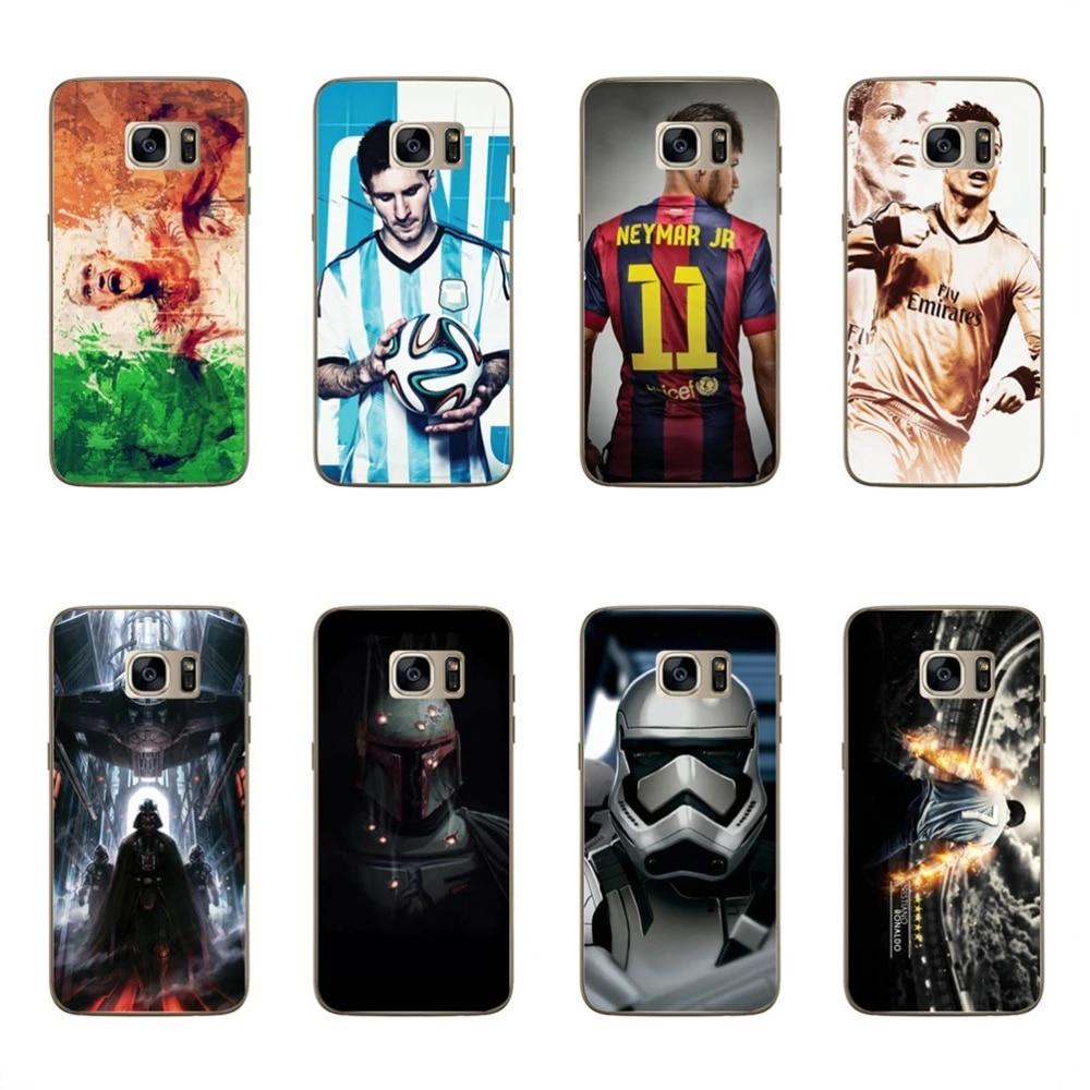 For Samsung Galaxy J5 2015 Phone Case Cool Player RONALDO NEYMAR JR Starwars Design Cases For Samsung J5 2015 Funda Coque Capa