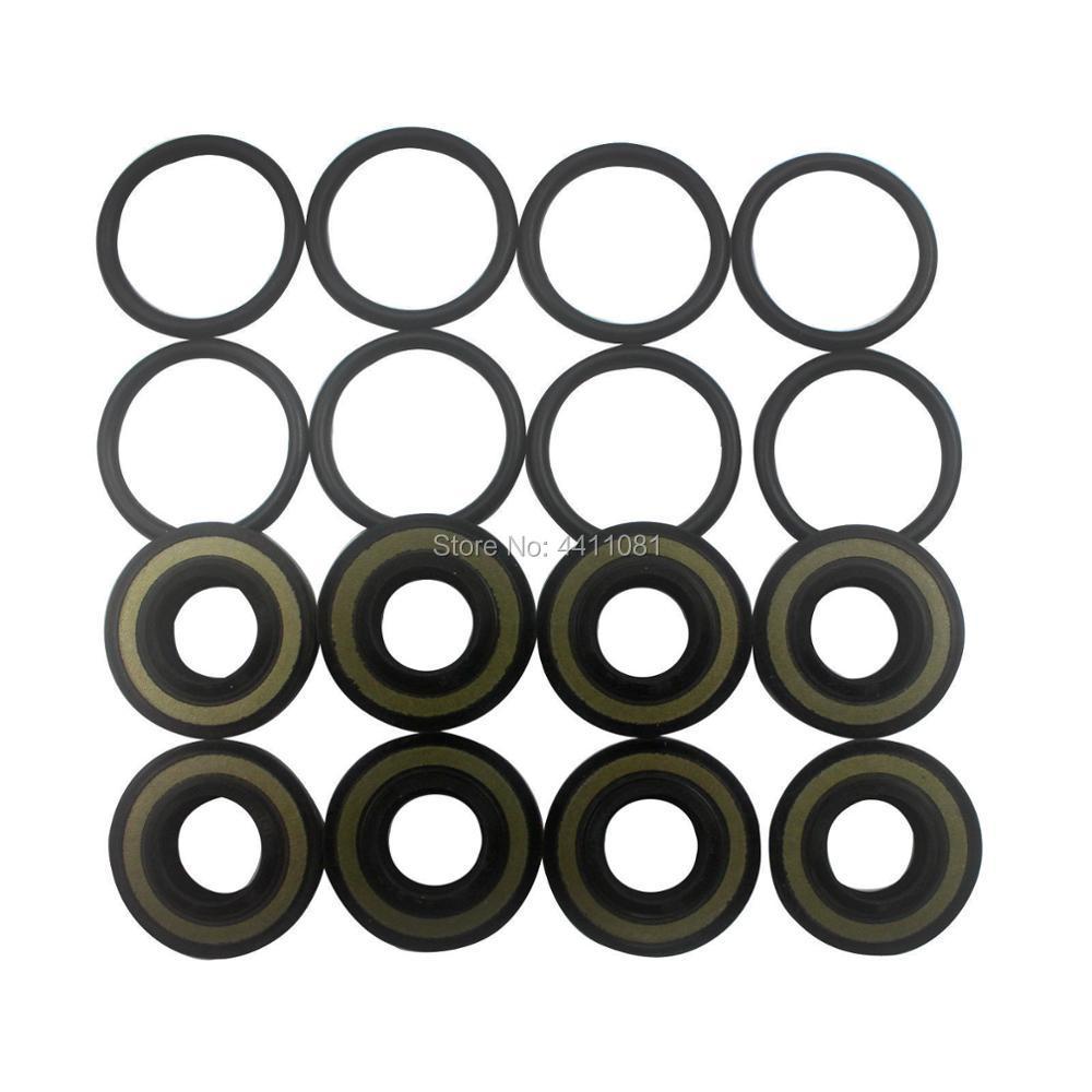For Hitachi EX200 1 PPC Pilot Valve Seal Repair Service Kit Excavator Oil Seals 3 month