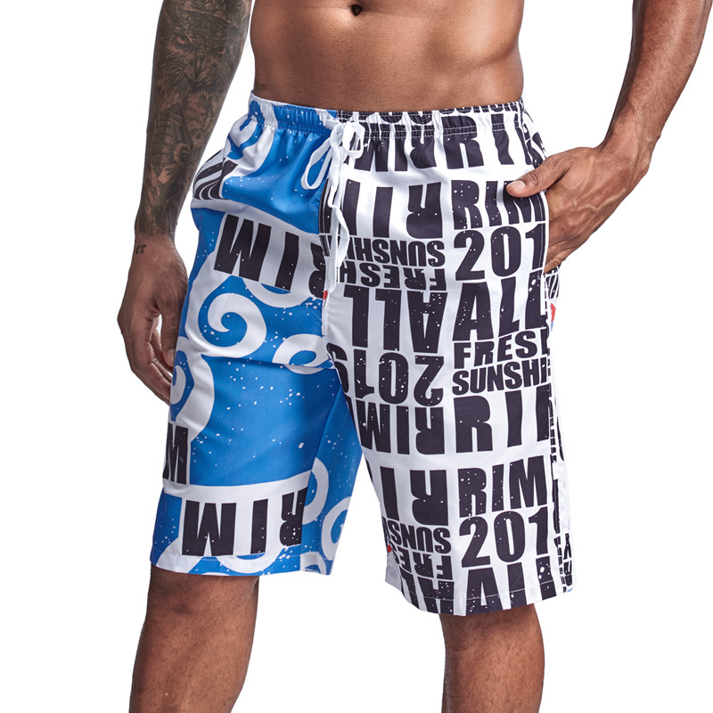 New Men swim trunks sports   Shorts   Summer Beach pants Men swimsuit surfing   Board     shorts   Bermuda swimwear   shorts   size XXL