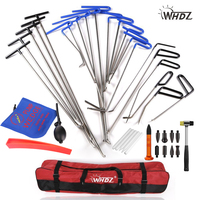 WHDZ Dent Repair pump wedge Tools Rubber Hammer Tap Down Pen Dent Hail Removal Repair Tools - PDR Hook Tools Push Rod PDR
