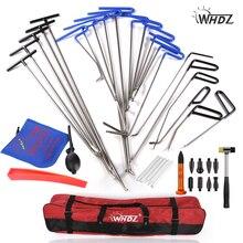 WHDZ Ausbeularbeiten pumpe keil Werkzeuge Gummihammer Leitungs Unten Stift Dent Hagel Removal Repair Tools-PDR Haken Werkzeuge Schubstange PDR