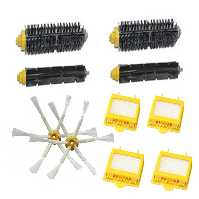 New Filters&Brush Pack Big Kit for iRobot Roomba 700 Series 6 Armed 760 770 780 high quality filters brush pack kit for 700 series new arrival