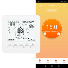 Wifi Smart Wi-Fi Programmable Digital Touch Screen Thermostat Heating Thermostat Warm Floor Electric System APP Voice