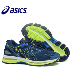 ASICS GEL-KAYANO 19 New Arrival Official Asics Runnung Men's Cushion Sneakers Comfortable Outdoor Athletic Running shoes Hongniu