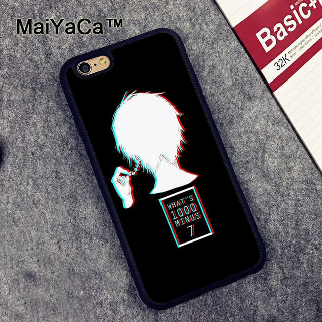 Tokyo Ghoul Soft Rubber Phone Case For iPhone