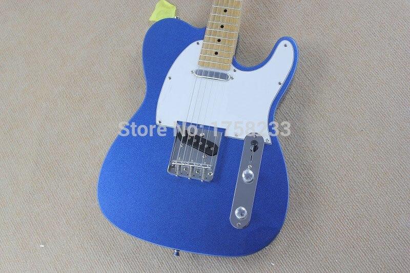 . Бесплатная доставка Новый TL Электрогитара клен гриф шеи Небесно голубой 22 предметов гитары