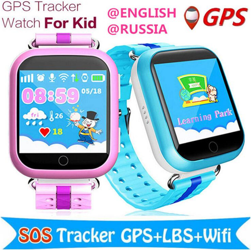 Children GPS Smart Watch Q750 Baby Watch With Wifi 1.54inch Touch Screen SOS Call Location Device Kids Watches Clock Relogio F20 smart baby watch g72 умные детские часы с gps розовые