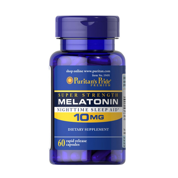 Free Shipping Melatonin 10 mg 60 pcs