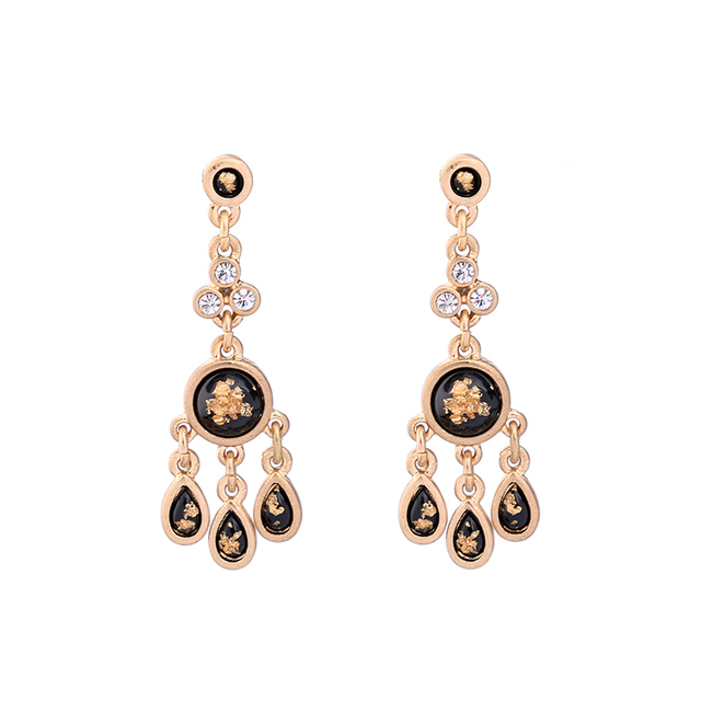 2 colors waterdrop dangling classic hanging earrings women jewelry 2 colors waterdrop dangling classic hanging earrings women jewelry fashion vintage chandelier earrings mozeypictures Images