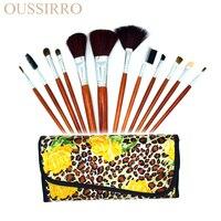 Beautiful fashion 12 personal computer makeup brush sets of cosmetics cosmetics tool kit
