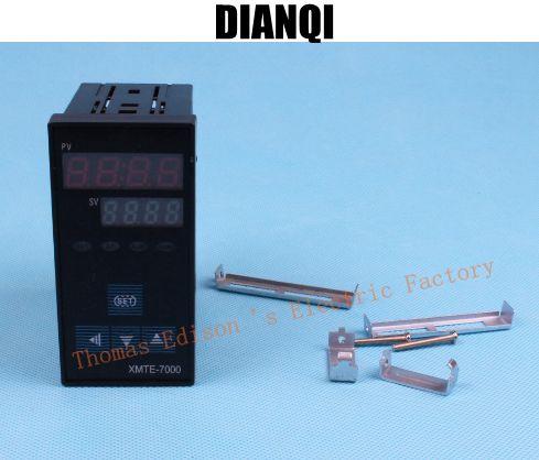 купить RKC temperature controller thermostat XMTE-7000 better than temperature controller / thermostat 0-1300 degree 220v SSR device недорого