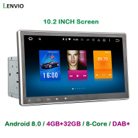 Lenvio 4GB 32GB Octa Core 2 Din Universal Android 8 0 CAR DVD Player For Universal