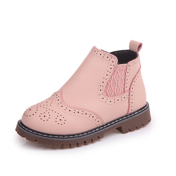 2019 Winter Boots For Big Girls Snow Boots Girls Shoes Ankle Sneakers Children Kids Warm Boots Hollow 4 5 6 7 8 9 10 11 12 Year new rivet children s autumn girl ankle boots for kids martin snow fashion waterproof winter shoe 4 5 6 7 8 9 10 11 12 year old