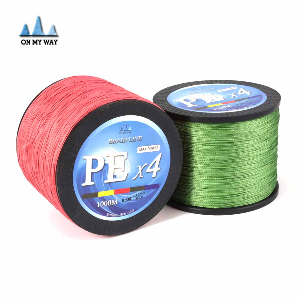 Buy with gift new 4 stands 1000m 100 pe for Where to buy fishing line