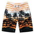 6XL Plus Size Printed Beach Shorts Men Swimwear Men Swimsuits Surf Board Beach Wear Man Swimming Trunks Boxer Shorts