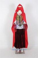 Однажды Ruby Red Riding Hood карнавальный костюм