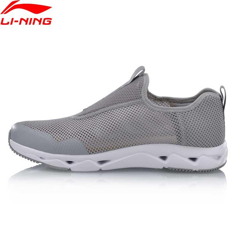 Li Ning Men LN UPSTREAM Aqua Shoes Classic Walking Shoes Breathable Light Weight LiNing Sports Shoes