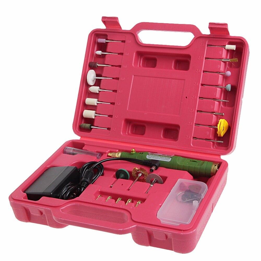WL-800 Variable Speed wood Dremel Rotary Tool Mini Drill electric mini grinder Screw driver polisher Set 1A0505  цены