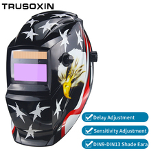 battery/Solar Power Auto Darkening TIG MIG MMA MAG KR KC Electric Welding Mask/Helmets/Welder Glasses for Welder welding accessories solar li battery auto darkening tig mig mma mag kr kc electric welding mask helmets welder cap