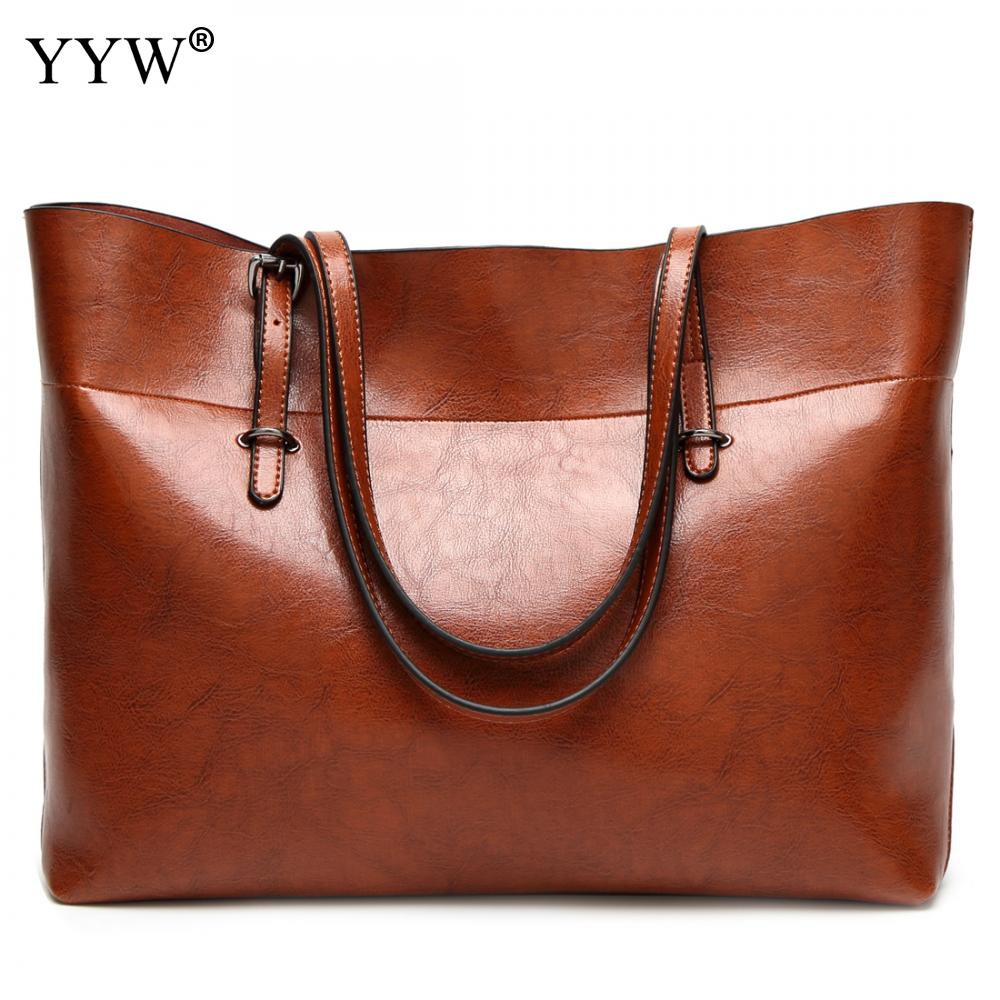 Différentes tailles dames Pu cuir sacs décontracté sacs à bandoulière Vintage Sac Bolsas Femininas Sac un Sac à Main Polyester solide femmes