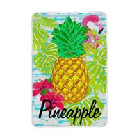 Tropical Flamingo Pineapple Blanket Lightweight Soft Warm Blankets Twin Size 60x90 inches for Bed Sofa Couch Office cobija