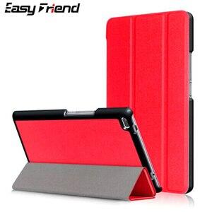 Для LG G Pad 4 8,0 P530 GPad X2 V530 V533 FHD GPad4 чехол для планшета Custer Tri 3 Fold Folio Stand откидной держатель кожаный чехол