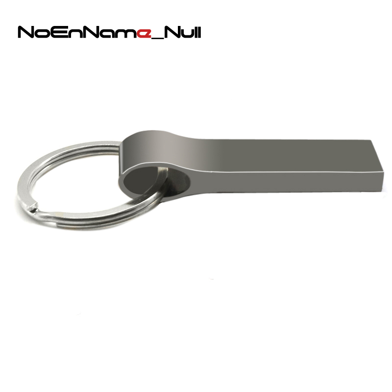 External Storage New Arrival Noenname Waterproof Usb Flash Drive Metal Pen Drive 8gb 16gb 32gb 64gb Pendrive Usb Stick Flash Drive With Keychain High Quality Materials