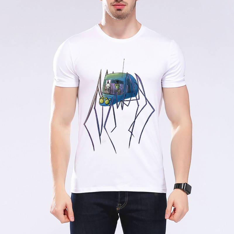 New arrival fashion men mosquito car t shirt printing for Cheap t shirt printing no minimum