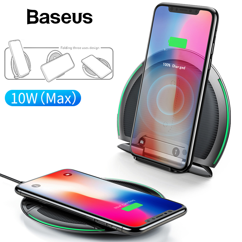 Wireless Charger 10W - Multifunctional 3 in 1 Wireless Charger - Apple Quick Charging 1