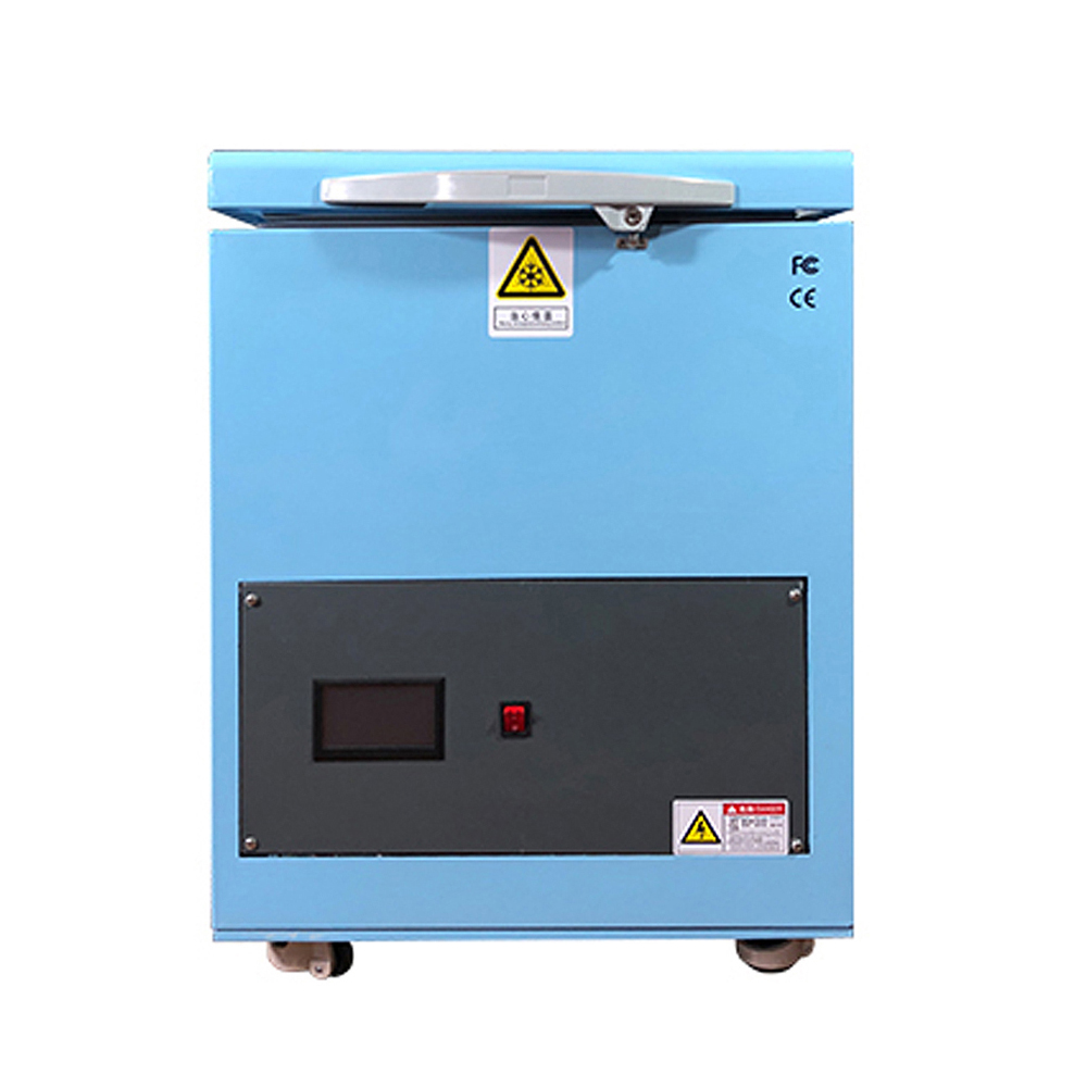 180C LCD Touch Screen Freezing Separating Machine LCD Panel Frozen Separator Machine For Phone LCD Glass Edge Repair
