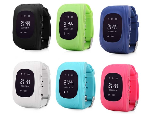 1pcs Q50 GPS Tracker Watch For Kids SOS Emergency Anti Lost Bracelet Wristband Q50 Wearable Devices OLED Finder Locator Tracker