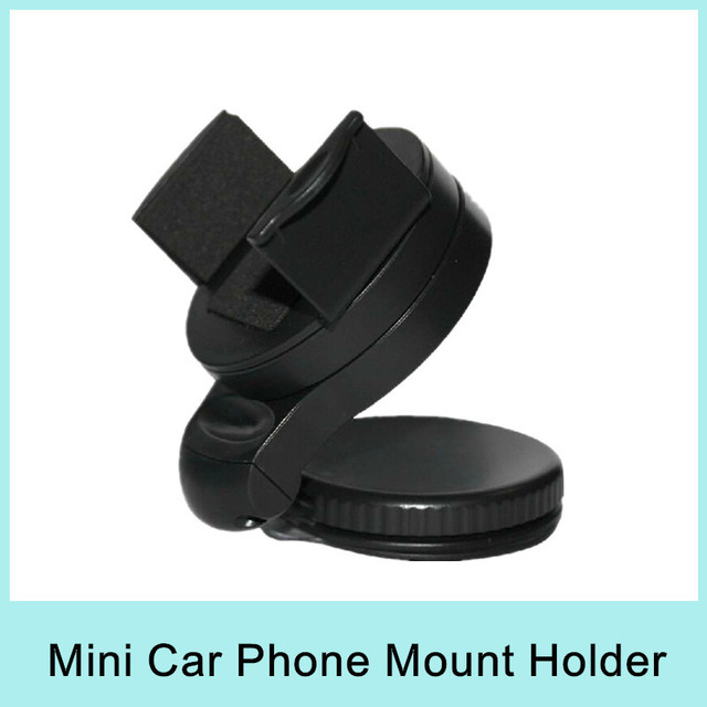 Hot Sale 360 Rotation Car Windshield Holder Mount Stand For iPhone PDA MP4 GPS Navigation ABS Drop shipping