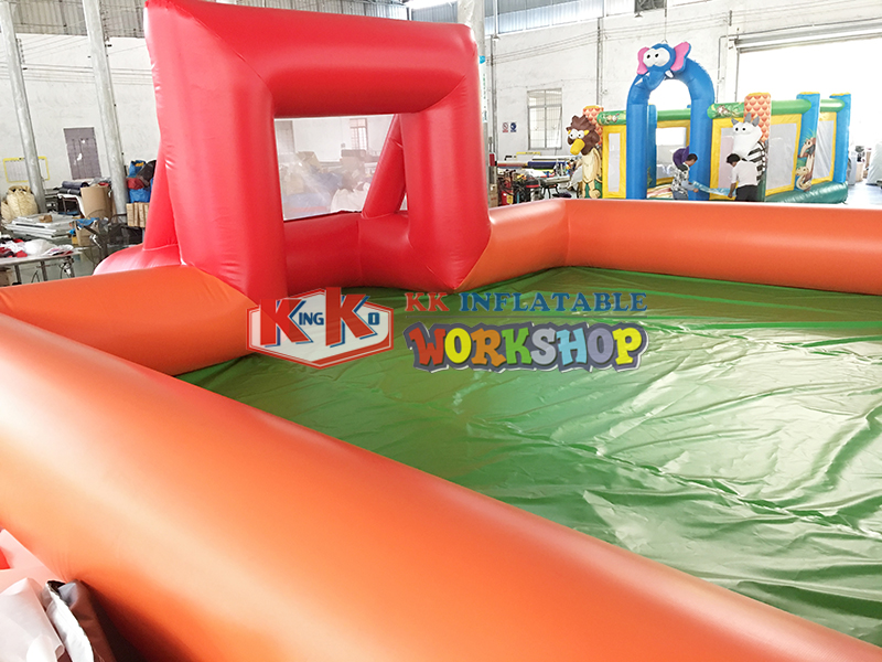 Inflatable Sport Games Inflatable children's football field Large interest sports football game facilities