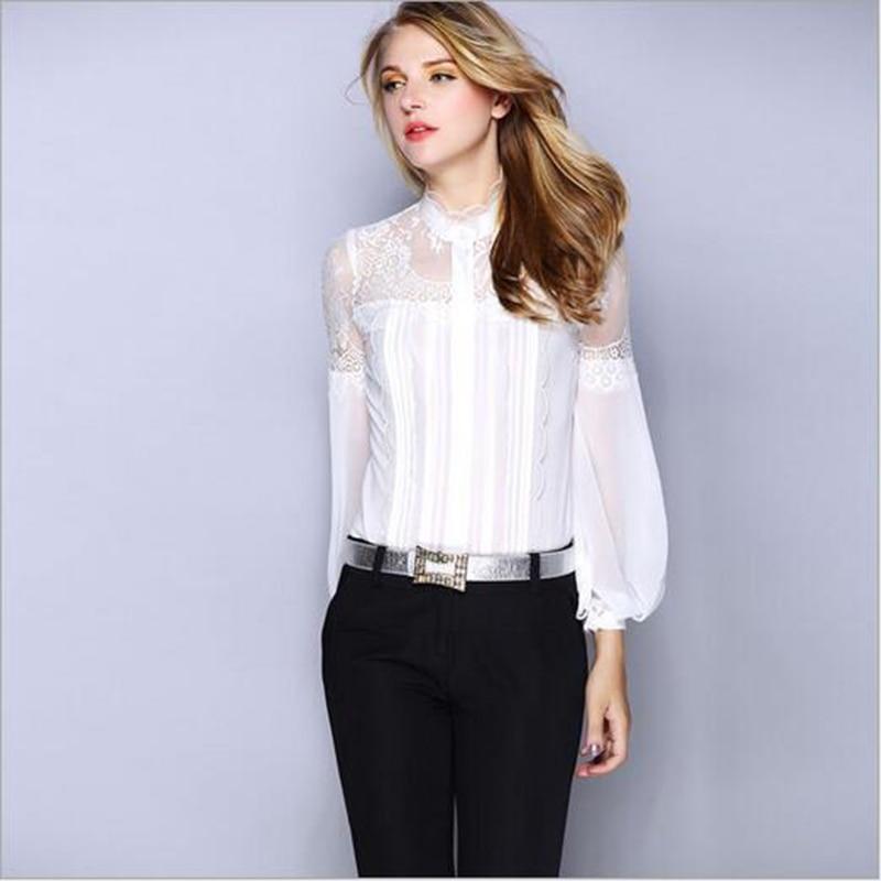 Nuevo de Las Mujeres de Satén de Seda Camisa de La Blusa Casual de Las Señoras