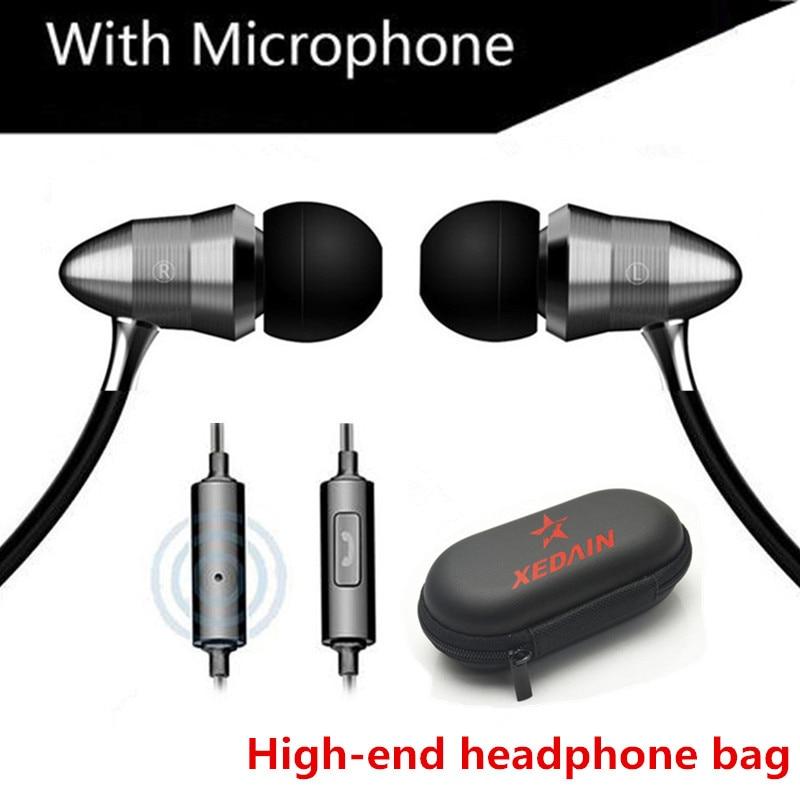 3,5mm Sport Bass Sound Ohrhörer Super Bass Metall Hifi Laufende Subwoofer Headset Kopfhörer Stereo Ohrhörer Für Iphone Samsung Mp3