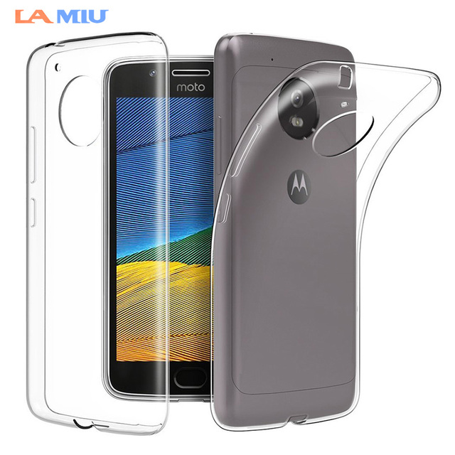 differently a7a84 2de39 US $1.88 |LA MIU Transparent Silicone Case For Motorola Moto X4 Slim Clear  Soft TPU Back Case Cover For Moto G5 G5S Plus Z2 Play M E4 Plus-in Fitted  ...