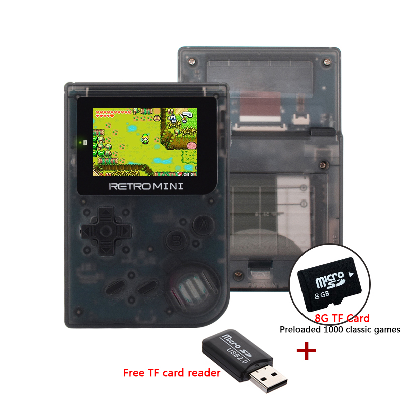 Retro Handheld Console 32 Bit Portable Mini Handheld Game Players Built-in 1040 For GBA Classic games Childhood game console