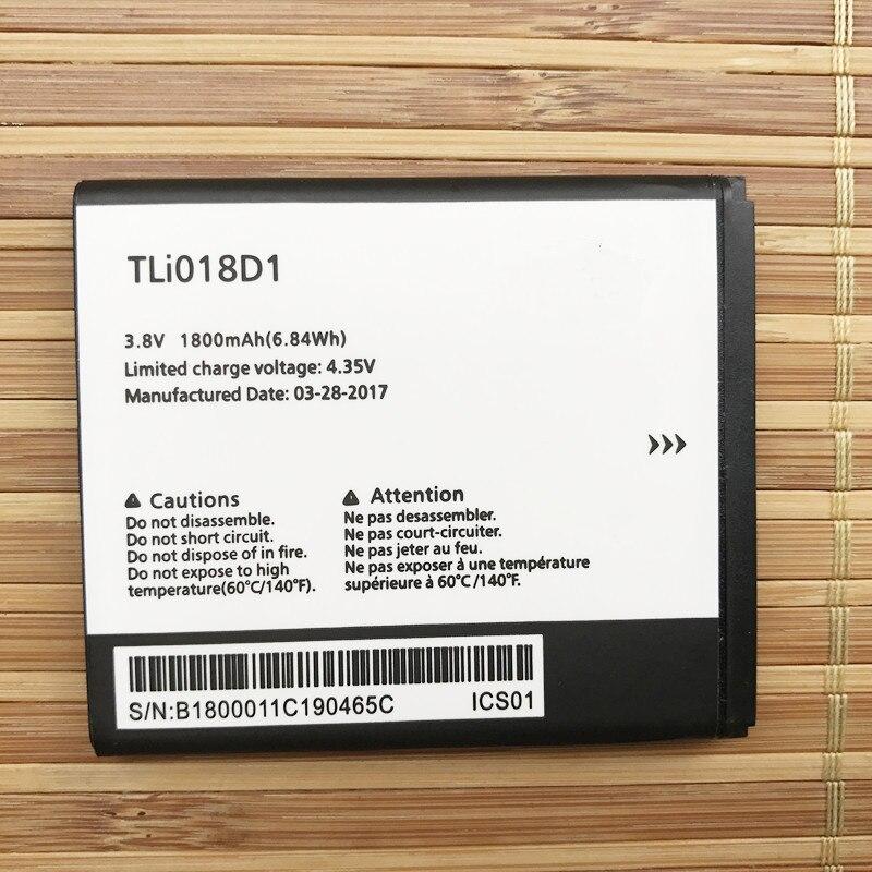 Runboss D'origine de Haute Qualité 1800 mAh TLi018D1 Batterie Pour Alcatel OneTouch pop 3 (5) 5051A Mobile Téléphone