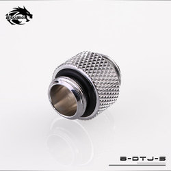 BYKSKI G1/4'' to G1/4'' Dual External Thread Connection double male adapter thread 4.5MM connector for water cooling B-DTJ-S