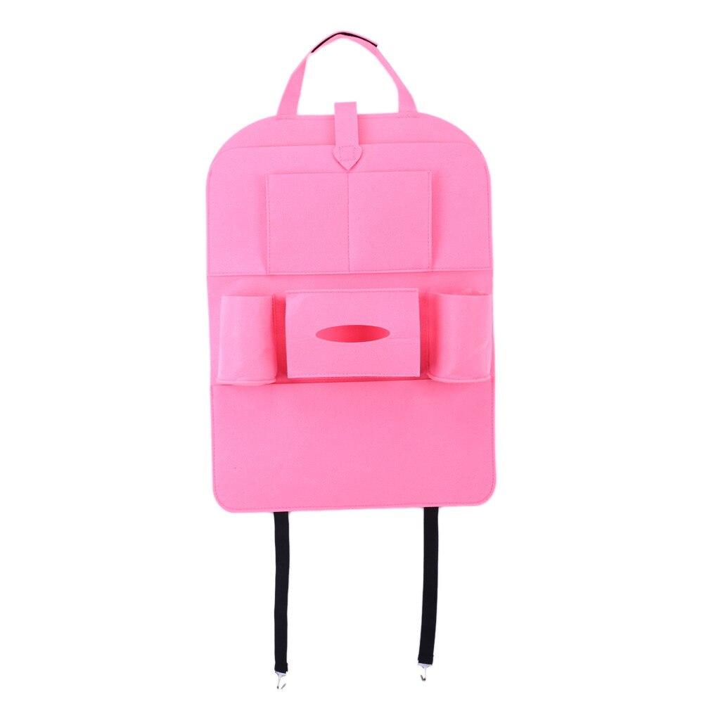Buy 3 Colors Auto Multi-Pocket Back Seat Storage Bag
