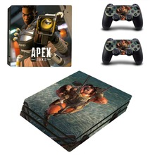 APEX Legends PS4 Pro Skin Sticker Decal for PlayStation 4 Console and 2 Controllers PS4 Pro Skin Sticker Vinyl