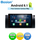 9 inch 1 din Android 8.1 Car Multimedia Radio Stereo for BMW E39 E53 X5 1024x600 HD Touch Screen Wifi 4G Bluetooth DVR RDS USB