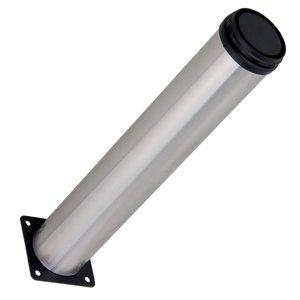 Image 2 - 4pcs 스테인레스 스틸 Thicken 50x300mm 조정 가능한 가구 다리 테이블 침대 소파 캐비닛 피트 장착 나사와 발 다리