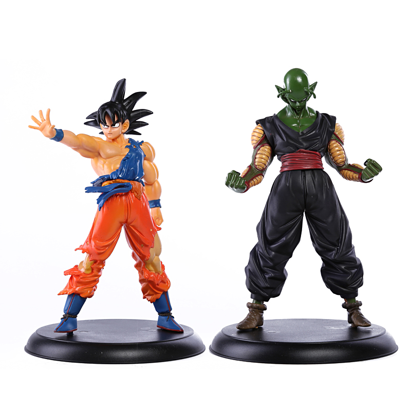 Dragon Ball Z Son Goku & Piccolo PVC Figures Collectible Model Toys 2pcs/set Boxed anime dragon ball super saiyan 3 son gokou pvc action figure collectible model toy 18cm kt2841