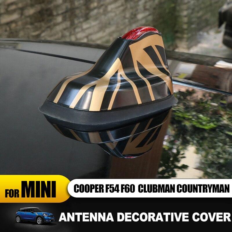 Union Jack Car Styling Signal Antenna Covers Modify Case Sticker for Mini Cooper F54 F60 Clubman Countryman Auto Accessories